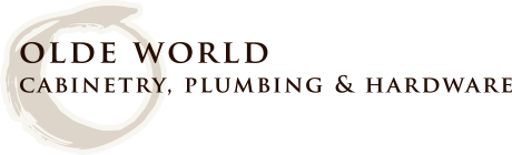 Olde World Cabinetry, Plumbing & Hardware Logo